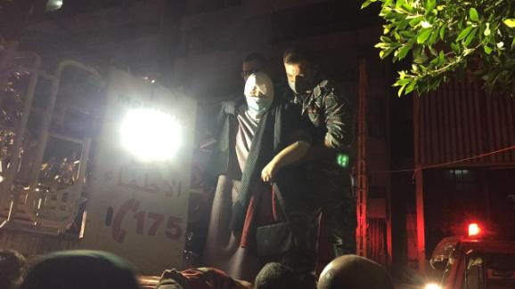 فوج إطفاء بيروت: إخلاء مبنى بعد نشوب حريق في إحدى الشقق في منطقة طريق الجديدة