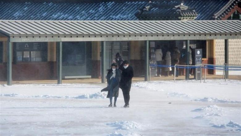 فقدان شخص وإصابة آخرين جراء رياح عاتية في كوريا الجنوبية