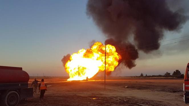 بعد وصول شحنة صواريخ.. إنفجارات عنيفة في مواقع إيرانية بسوريا