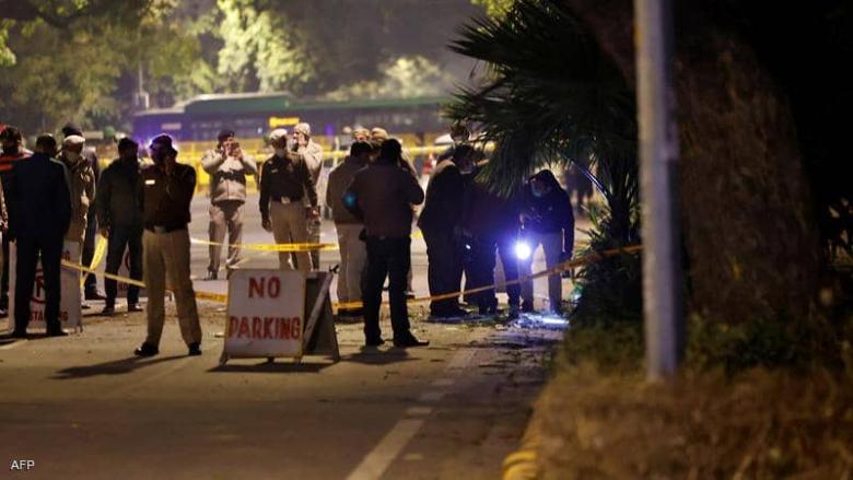 بعد إنفجار السفارة الإسرائيلية في الهند.. رسالة في الموقع