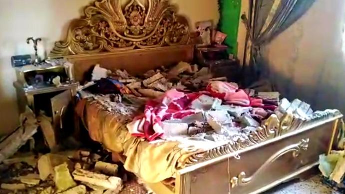 إصابة 4 شقيقات بانهيار سقف وإصابة إحداهن حرجة في عكار