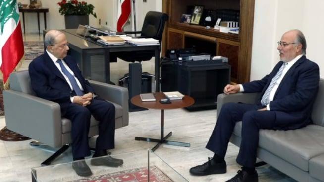 رئيس الجمهورية عرض مع وزير التربية انطلاقة العام الدراسي وأوضاع الجامعة اللبنانية