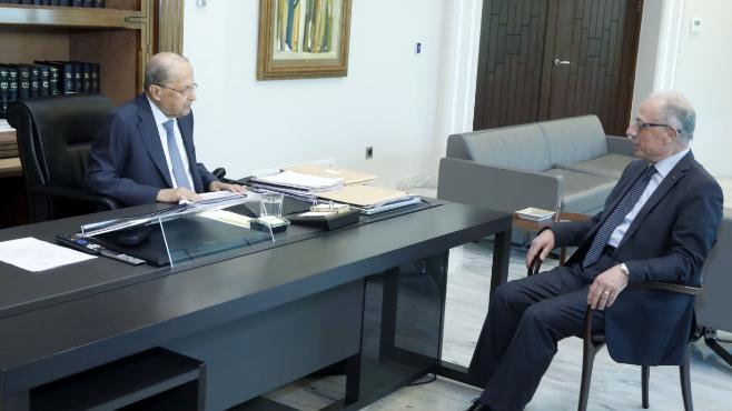 وزير الدفاع بعد لقاء عون: المؤسسة العسكرية لن تسمح بأي تجاوزات