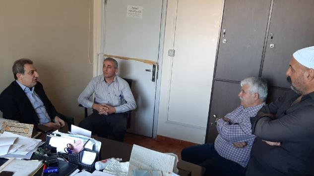 أبو فاعور خلال زيارته مركز نفوس راشيا: مستعدون للمساعدة لإنجاز معاملات المواطنين بسرعة
