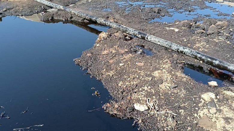 رواية جديدة للأهالي عن التسرّبات النفطيّة على خطّ كركوك - طرابلس