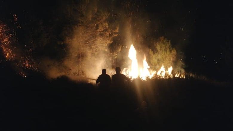 السيطرة على حريق بين تكريت ورحبة في عكار