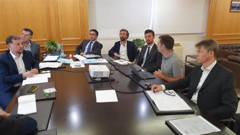 وزير الأشغال إطلع من مجموعة فرنسية على دراسة لتدوير أنقاض مرفأ بيروت