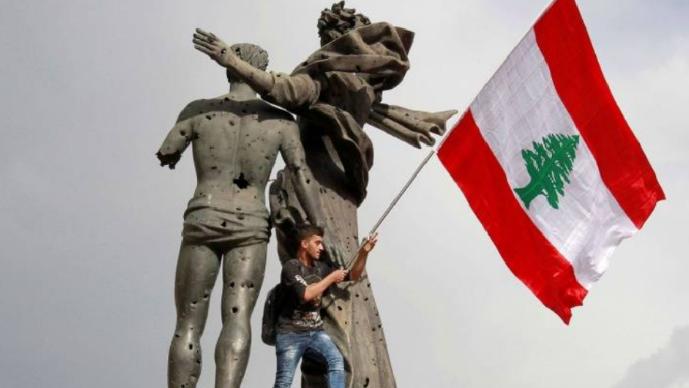 سقوط لبنان!