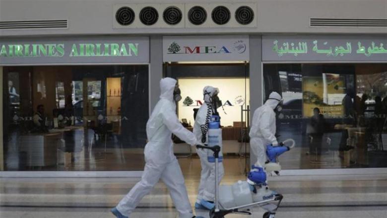 """وزارة الصحة: 23  إصابة بـ""""كورونا"""" على متن رحلات وصلت في 29 و30 كانون الثاني"""