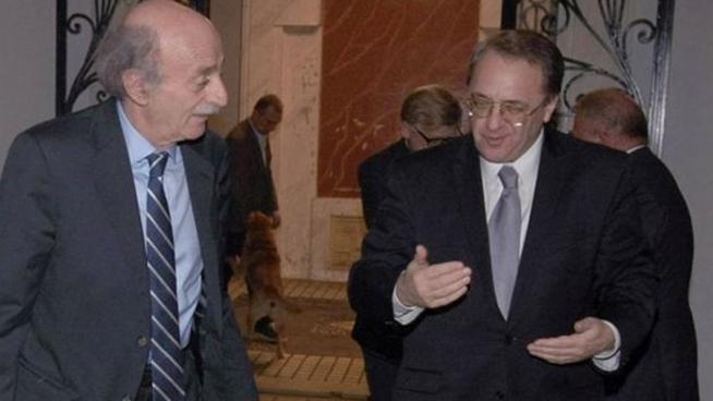 جنبلاط تلقى دعوة من بوغدانوف لزيارة موسكو وتأكيد على أهمية تشكيل الحكومة اللبنانية