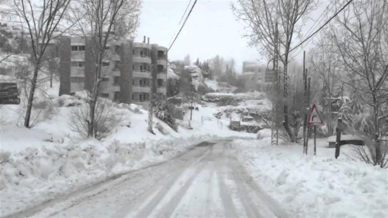 إليكم الطرقات المقطوعة بسبب تراكم الثلوج