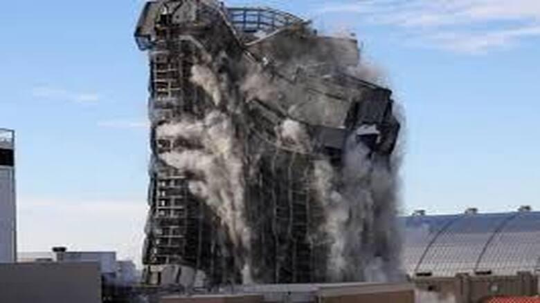 هدم فندق «ترمب بلازا» في أتلانتيك سيتي بالمتفجرات