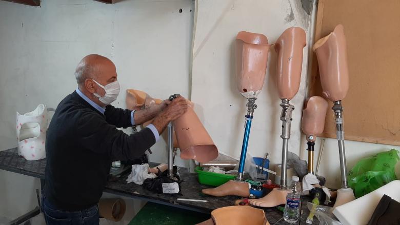 """""""الرؤيا"""" أطلقت مركز الأطراف الاصطناعية والأجهزة التقويمية في راشيا"""