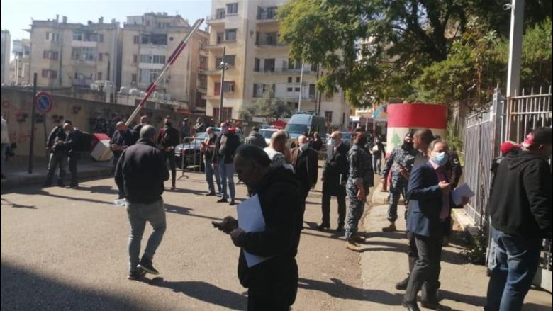 اعتصام أمام قصر العدل للمطالبة بقضاء عادل في قضية تفجير المرفأ