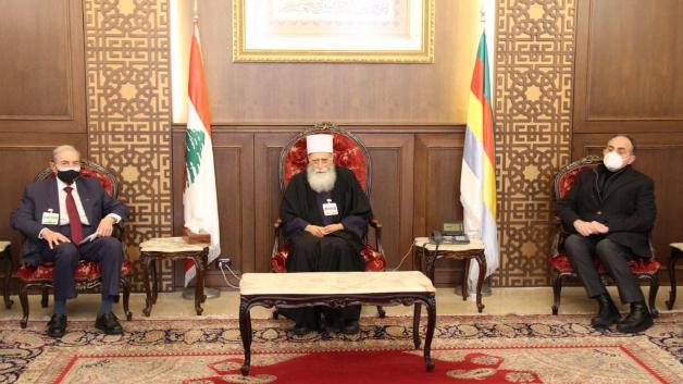 شيخ العقل إستقبل الخليل والعقيد حنا وترأس إجتماعاً في المجلس المذهبي