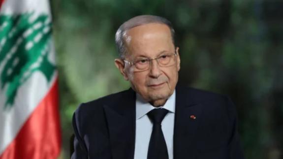 عون تابع التقارير الواردة حول التسرب النفطي وتأثيره على الساحل اللبناني