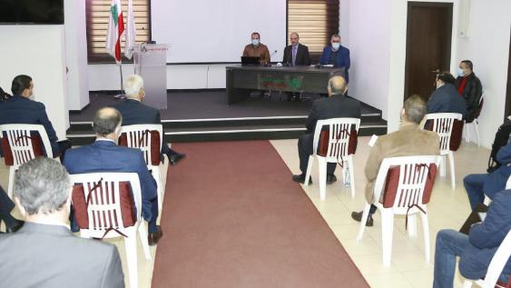 وزير الصحة إلتقى مسؤولي مراكز التلقيح المعتمدة وشدد على الإلتزام بالخطة