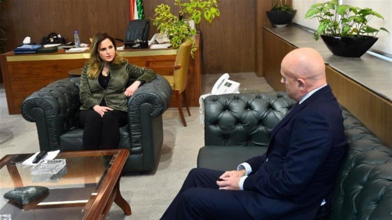 عبد الصمد بحثت مع سفير الأرجنتين في تعزيز التعاون الإعلامي