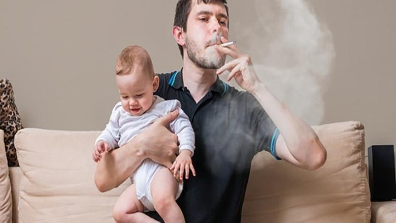 التدخين السلبي يعرض الأطفال لخطر الإصابة بارتفاع ضغط الدم
