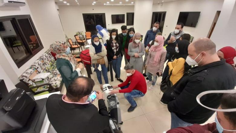 181 طلب خدمات و138 إستشارة طبية وزيارة 93 مريض خلال شهر في إقليم الخروب