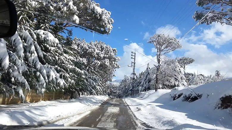 إليكم الطرقات التي قطعتها الثلوج