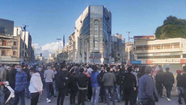 وقفة إحتجاجية في ساحة النور إستنكاراً لجريمة قتل سليم