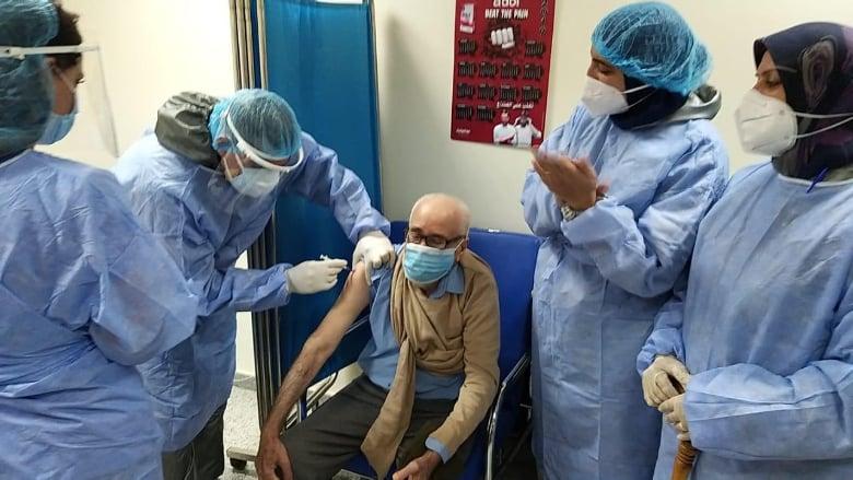 مستشفى سبلين الحكومي: تم تلقيح 688 مواطناً