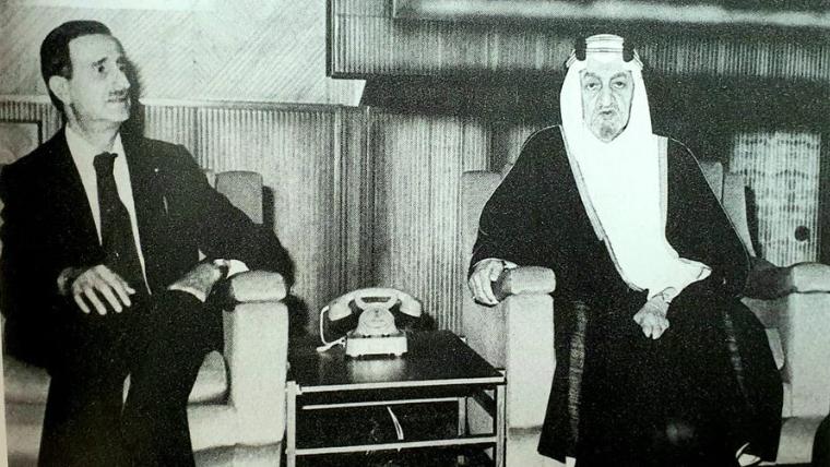 السفير السعودي يغرّد في ذكرى استشهاد كمال جنبلاط