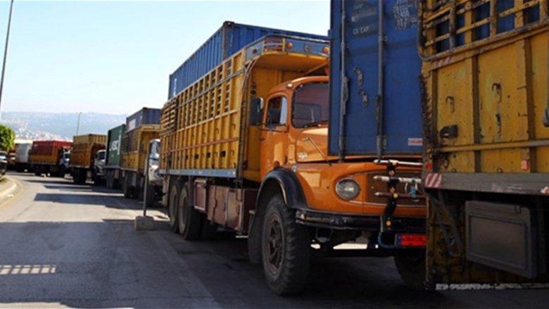 نقابة مالكي الشاحنات العمومية في مرفأ بيروت أعلنت تعليق الاضراب لمدة 48 ساعة