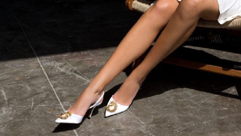 تعرفي إلى أجدد مجموعة أحذية الأعراس