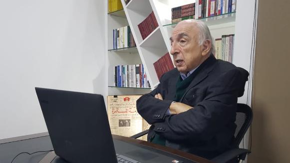 """لقاء لمفوضية الثقافة وجريدة """"الأنبـاء"""" مع الصحافي عطالله: يوم غاب كمال جنبلاط سقط أعلى هرم ثقافي في سياسات لبنان"""