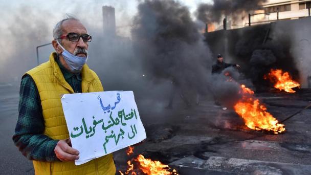 """تزايد الإحتجاجات.. و""""الوطني الحر"""" يتحدث عن رسائل من الضاحية"""