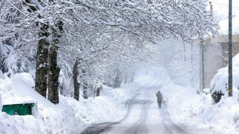 كتل باردة جدًا تُؤثّر على لبنان.. وتساقط للثلوج على إرتفاع 1300 متر
