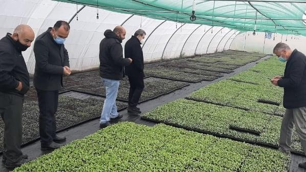 """أبو فاعور تفقد مشتل """"الفرح"""" الزراعي: """"التقدمي"""" سيتابع تحمل مسؤولياته تجاه مجتمعه"""