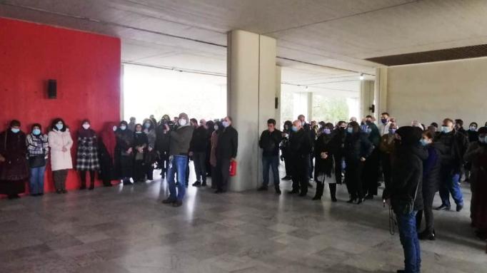 اعتصام لرابطة العاملين في الجامعة اللبنانية