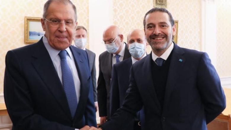 بيان للخارجية الروسية عن لقاء لافروف والحريري.. إليكم التفاصيل