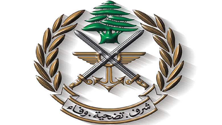 الجيش: توقيف شخصين بقاعا وضبط مواد معدة للتهريب