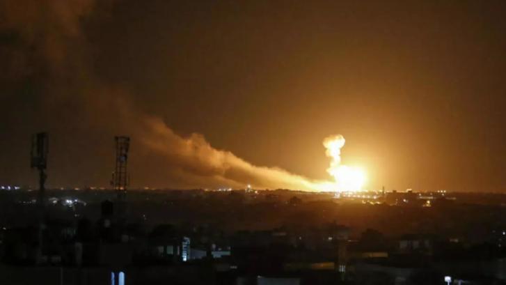 إسرائيل تستهدف البنية التحتية السورية - الإيرانية
