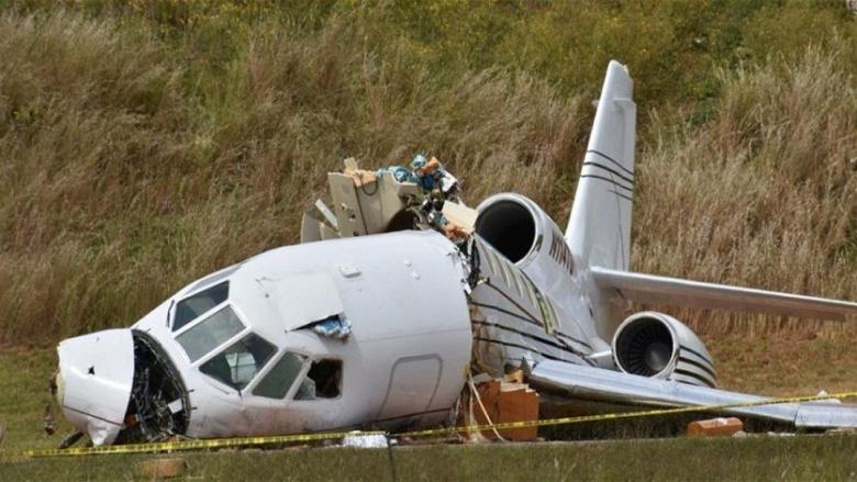 مقتل رجلين في فرنسا بتحطم طائرة خفيفة