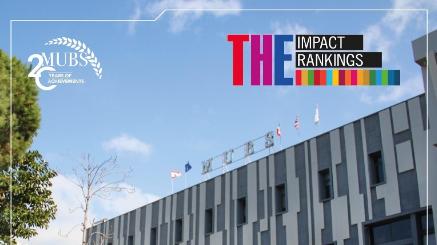 جامعة MUBS: موقع متقدم في تصنيف تايمز للجامعات الأكثر تأثيراً