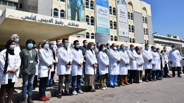 القطاع الصحي يسقط بضربة الليرة القاضية