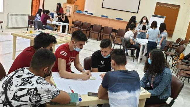 """ورشة ثانية لتلامذة الثانويات والمهنيات الرسمية في الشوف بعنوان """"بحقلي احلم... حلمك رح يتحقق"""""""