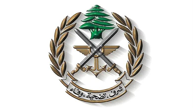 """""""الجيش"""" يعايد اللبنانيين بمناسبة الفصح وعيد العمال"""