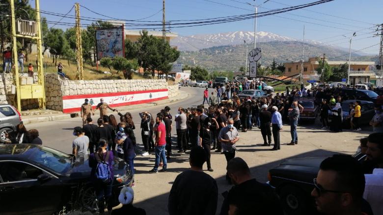 وصول جثمان الفتاة نورا حاطوم إلى راشيا
