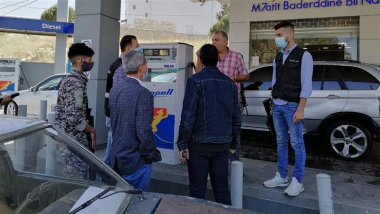 جولة لمدير عام وزارة الإقتصاد على محطات الوقود في النبطية