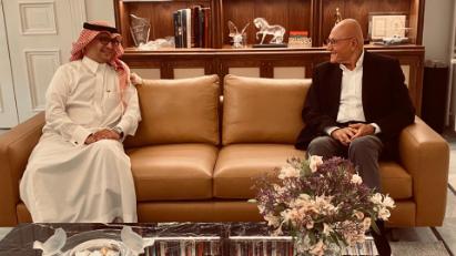 سلام التقى السفير السعودي
