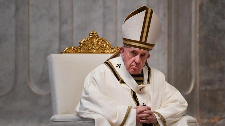 البابا فرنسيس يدعو إلى وقف القتال في إسرائيل وغزة