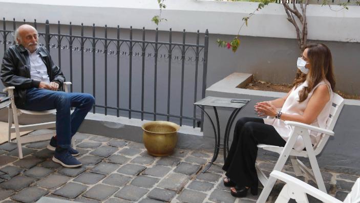 جنبلاط عرض مع عكر المستجدات السياسية