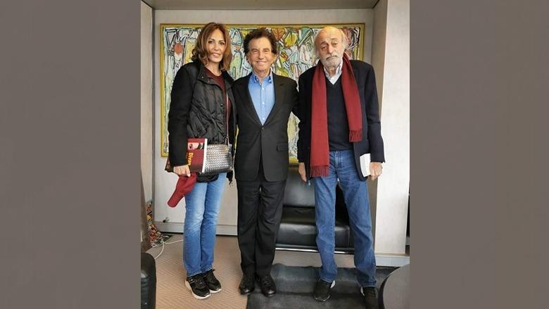 جنبلاط زار معهد العالم العربي في باريس والتقى رئيسه جاك لانغ