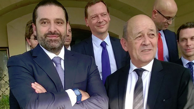 لودريان إلى لبنان.. هل يلتقي الحريري؟
